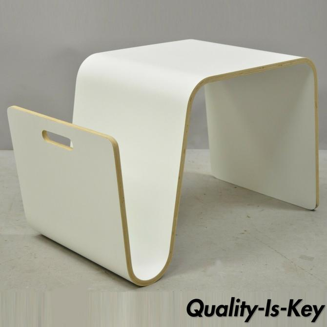 Offi Mag Table Magazine Rack Stand Side End Table