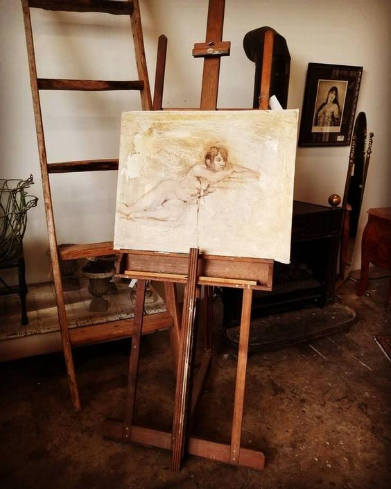Antique Easel $150