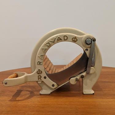 Vintage Raadvad Bread Slicer by FarOutFindsNYC