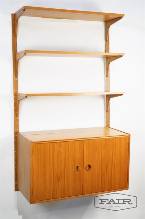 Teak HG Mobler Wall Unit