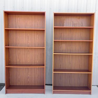 Vintage Modern Teak Bookcases- a Pair by secondhandstory