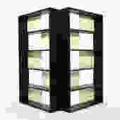 Glenn of California Folding Bookcase\/ Display Shelf\/ Room Divider
