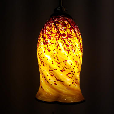 Contemporary Swivelling Pendant Light 38H x 5.25 (diam)