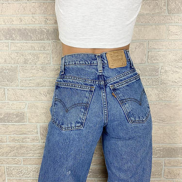 Levi's 550 Student Fit Jeans / Size 24 25 by NoteworthyGarments