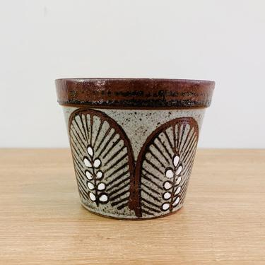 Vintage Mid Century Modern Small Planter Made by Otagiri Japan by DelveChicago