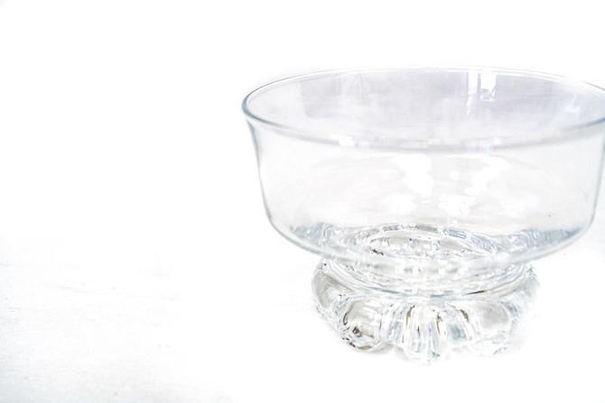Vintage |  Crown Corning | Glass Dessert Dishes by CasanovaHome