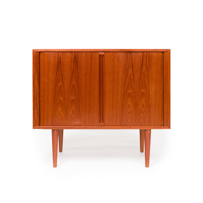 Vintage Danish Teak Record Player Cabinet by Kai Kristiansen for FM Mobler Denmark by MCMSanFrancisco