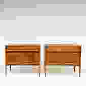 In the Works! Pair of Drexel Parallel Nightstands