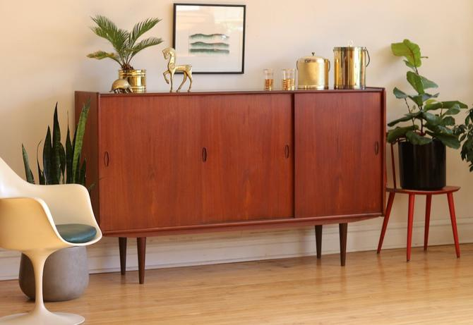 Brilliant Mid Century Danish Modern Teak Bar Cabinet By Sharkgravy Uwap Interior Chair Design Uwaporg