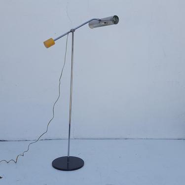 Robert Sonneman Style  Adjustable Chrome  Floor Lamp . by MIAMIVINTAGEDECOR
