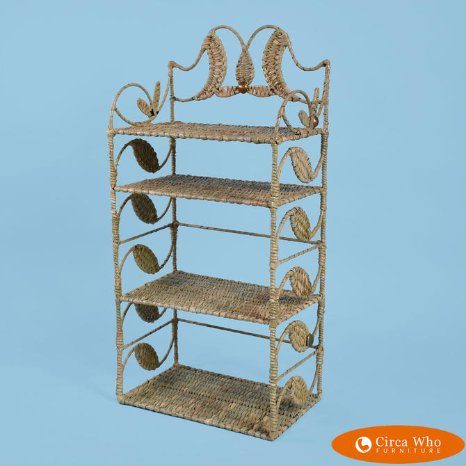 Small Open Hanging Wall Etagere by Mario Lopez Torres