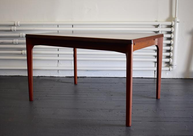 Mid Century Modern ROSEWOOD Danish DINING TABLE by Henning Kjaernulf by CIRCA60