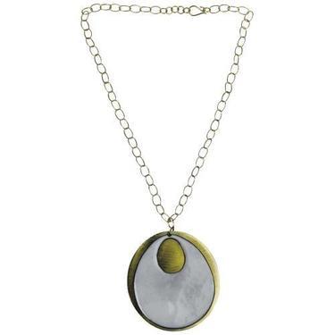 Hom Art - Ora Ten Donte Necklace - White