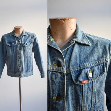 Vintage Lee Denim Jacket Small Medium by milkandice