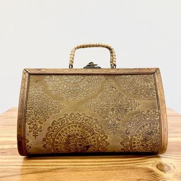 Vintage   Boho   Handmade Wood Box Purse by CasanovaHome