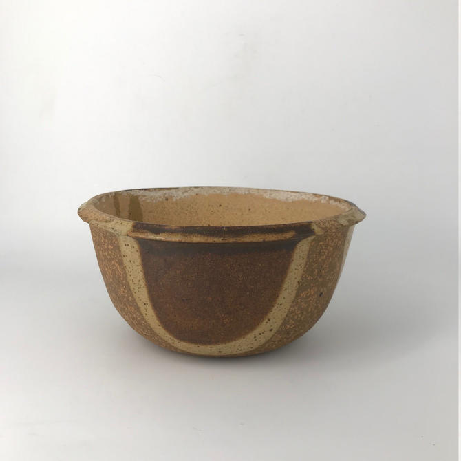 David Cressey Terra Major Bowl Planter Vase Ceramic Thrown Pottery by BrainWashington