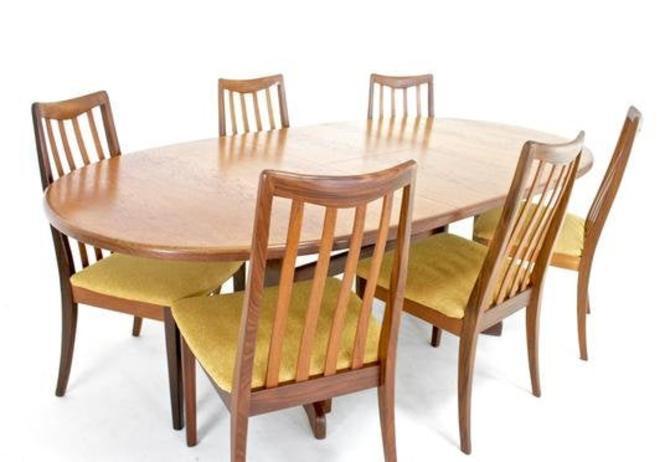 Mid Century Dining set by V.B.Wilkins for G Plan by SputnikFurnitureLLC