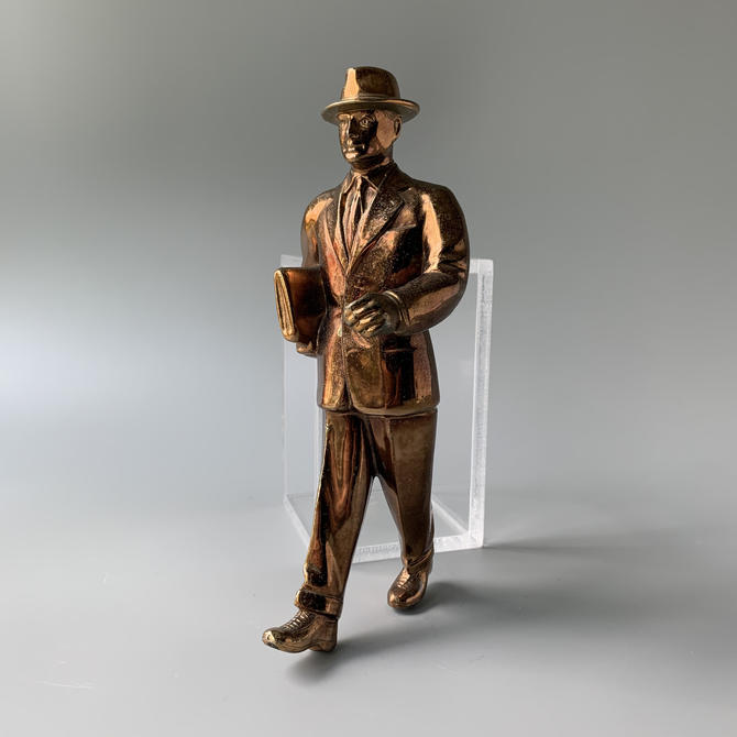 Willy Loman Vintage Salesman Award Figure by HomeAnthology