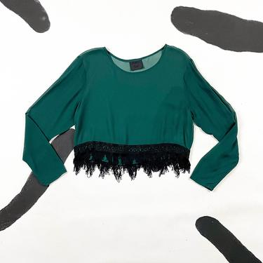 90s Anna Sui Gray Denim Jacket / Pockets / Structured / 3D / Face / Blazer / y2k / Anna Sui Jeans / Topstitching / Jean / Baroque / 00s / by shoptrashdotnet