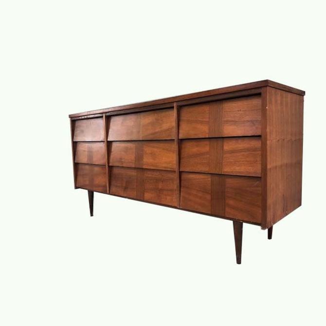 #434: Mid Century Triple Dresser