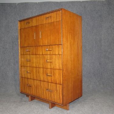 Mid-Century Frank Lloyd Wright Taliesin Mahogany Chest / Dresser by Henredon
