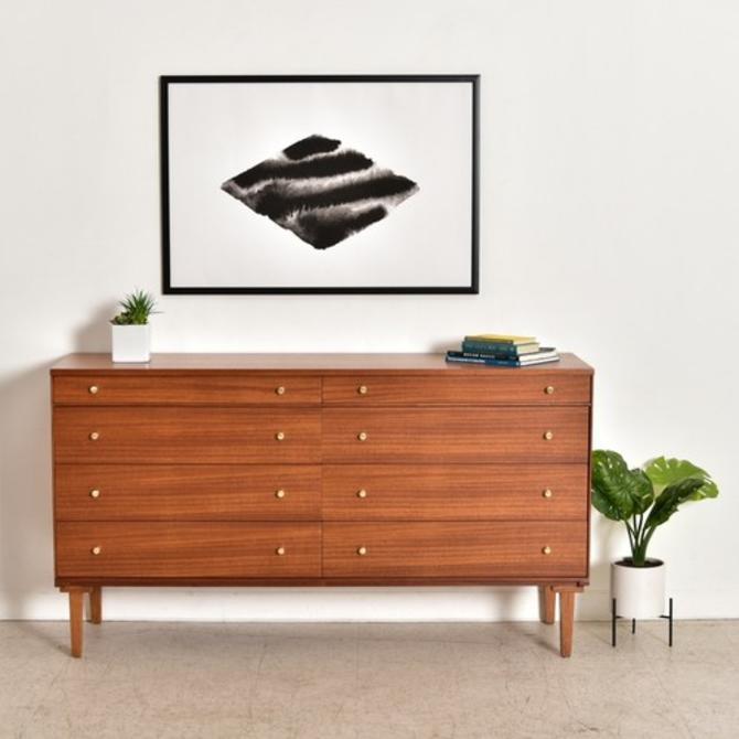 Paul McCobb Vintage 8 Drawer Dresser