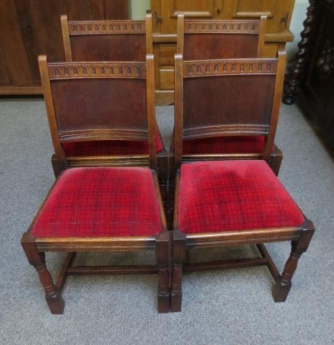 TS1B Oak Chairs (Set of four)