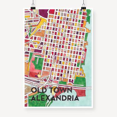 Old Town Alexandria Print