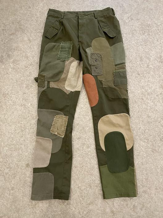Gilet Patchwork Trouser