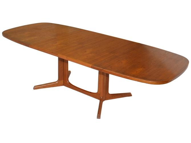 Danish Teak Extending Dining Table by RetroPassion21