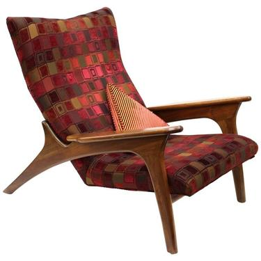Adrian Pearsall For Craft Associates Model 990 Lc Lounge Chair From