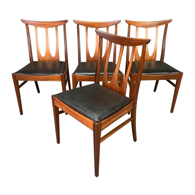 "Set of Four Vintage British Mid Century Teak ""Brasilia"" Dining Chairs by G Plan by AymerickModern"