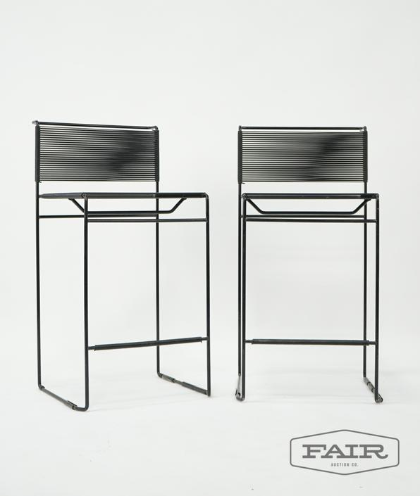 Pair, Giandomenico Belotti for FlyLine Barstools