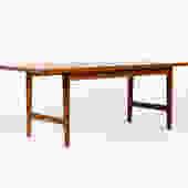Danish Modern / Mid Century Teak Large Rectangular Coffee Table by Westnofa by atomicthreshold