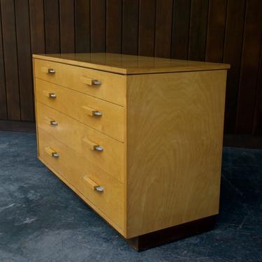 1930s Saarinen Dresser Vintage Mid-Century Modern Swanson Pipsan by CabinModernist