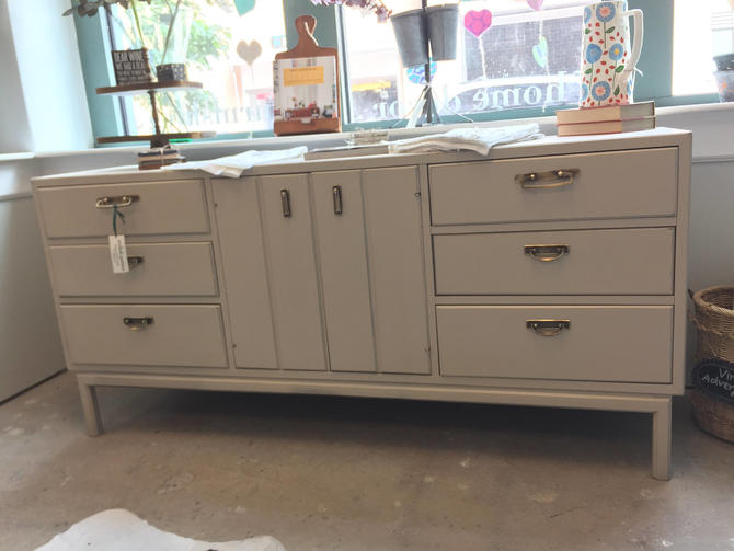 Long Tan Dresser 6/9 by StylishPatina