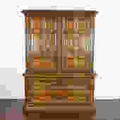 Hollywood Regency Highboy Dresser by Drexel