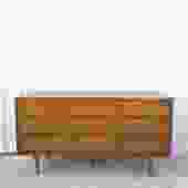 Mid Century 9 Drawer Lowboy Dresser