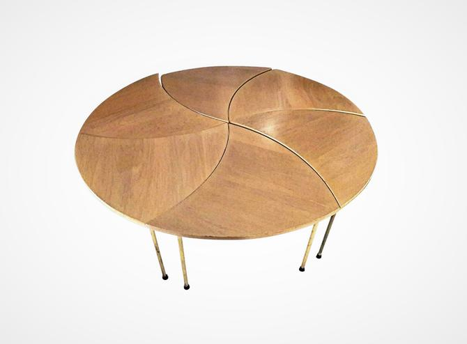 Peter Hvidt Pinwheel Coffee Table with 6 Sections John Stuart by MarquisModern