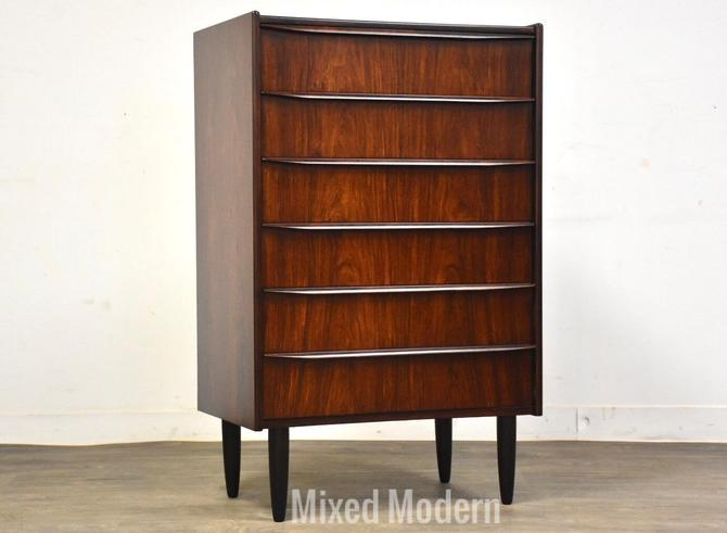 Danish Rosewood Petite Tall Dresser by mixedmodern1
