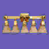 Gold Five Light Sconce – More Information Coming Soon