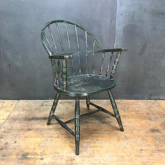 1920s Vintage Industrial STEEL Windsor Chair Armchair Antique Banker Vault Fireproof Simmons Shaw Walker Globe by BrainWashington