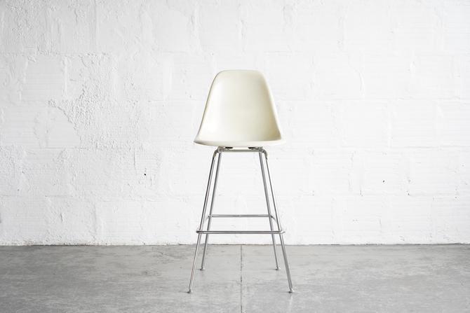 Off White Modernica Bar Shell Chair
