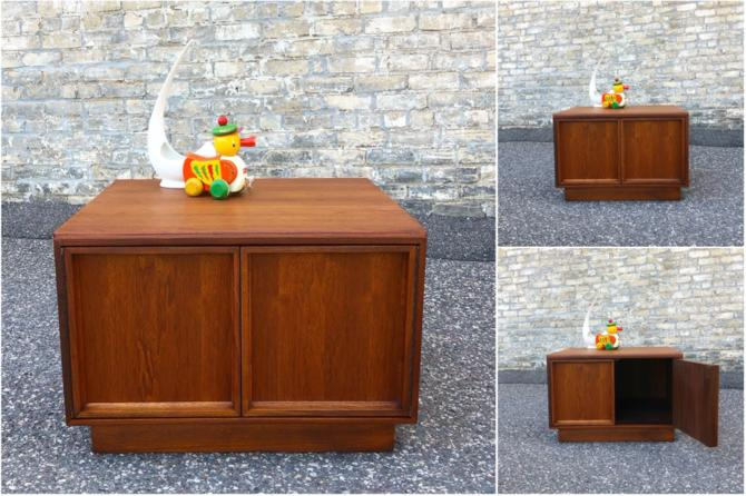 John Keal For Brown-saltman Cabinet-accent Table