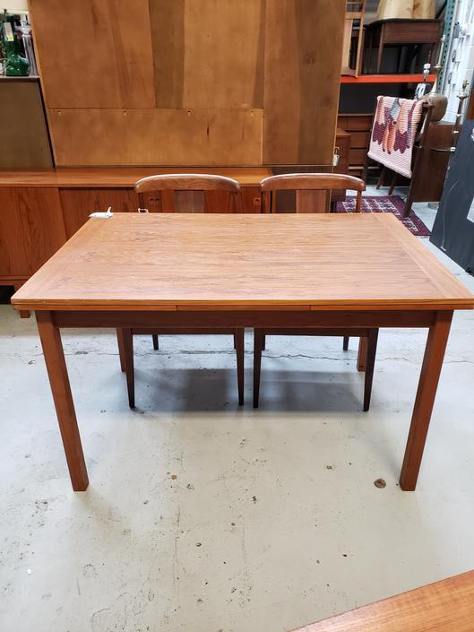 Danish Teak Expandable Dining Table