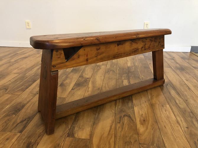 Vintage Cobbler's Bench
