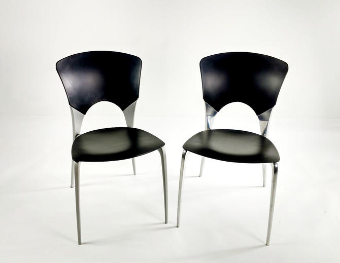 Silla Black Modern Chairs by ModernMixPlus