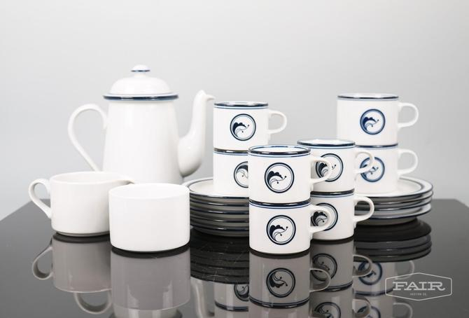 Dansk Flora/Bistro Tea Set