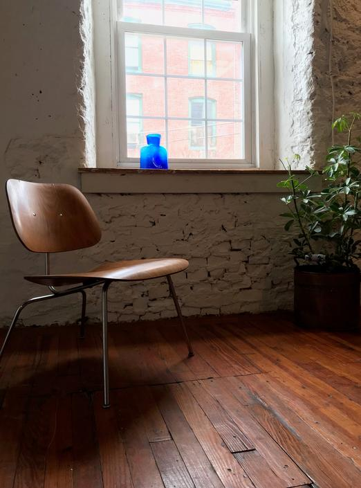 mid century lounge chair Eames LCM chair mid century modern side chair by VintaDelphia