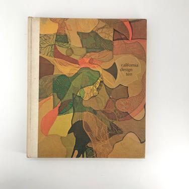 1968 California Design Ten Pasadena Art Museum Reference Book Vintage Mid-Century by CabinModernist